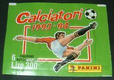 PANINI FOOTBALL CALCIATORI  1993-94 POCHETTE NEUVE BUSTINA CALCIO ITALIA