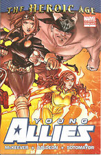Young Allies   #1  2nd Printing Lafuente Variant  Cover
