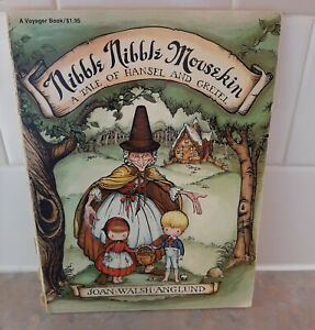 NIBBLE NIBBLE MOUSEKIN by Joan Walsh Anglund Vintage Copy