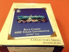 Hallmark 2002 Ornament - Lionel Blue Comet - 400E Steam Locomotive - B001