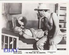 Gerard Philipe barechested VINTAGE Photo Michele Morgan Proud And The Beautiful