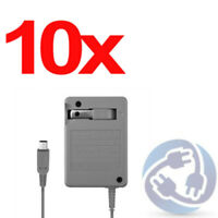 LOT - 10x AC Adapter Home Wall Power Supply Charger for Nintendo DSi 3DS XL LL