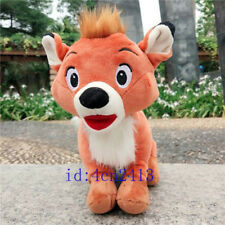 Original The Fox and the Hound Todd Plush Toy Fox Doll 25cm Kids Gift