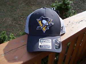 NHL PITTSBURGH PENGUINS Fanatics FLEX FIT Hat ~ Size ~ LARGE-XL