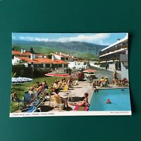 VINTAGE PUERTO DE LA CRUZ TENERIFE CANARY ISLANDS POSTCARD 1970's Hotel People