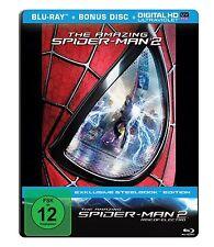 BLU-RAY  THE AMAZING SPIDER-MAN 2 STEELBOOK - Rise of Electro - NEU & OVP