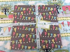 """CLEARANCE - On the Road Again - Charm Pack 10 Karat Crystals - 42 x 10"""" squares"""