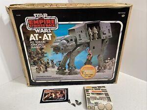 Vintage 1981 Star Wars Kenner AT-AT Walker Box w/ Orig Chin Guns Working!