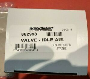 Mercury Mercruiser 862998 //  IAC VALVE IDLE AIR VALVE Motor