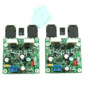 1 Pair MX40 50W 8R Dual Channel Stereo  Power Amplifier Board