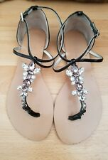 Lovely GUESS Shoes with Crystals, size EUR36/6M/UK3 - VGC