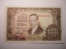 BILLETE DE  100  PESETAS  1953 SERIE   2Y