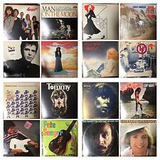Classic ROCK & ROLL Albums VINYL 33rpm LP RECORDS (Auction#13)