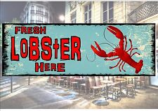 American Retro Style Diner Sign Cafe Sign Lobster Retro Sign Kitchen Sign