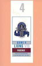 Phoenix Cardinals at Detroit Lions 9-26-1993 NFL ticket stub Topps Barry Sanders