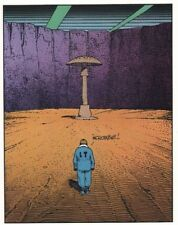 MOEBIUS ART COLOR LITHOGRAPH JEAN GIRAUD UNSIGNED PAGE 27