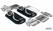 Snap Davits for inflatable boat & swim platform with Quick release kit BLACK