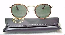 """RAY-BAN *NOS VINTAGE B&L *TORTUGA """"Lennon Style"""" W1675 Classic Metals SUNGLASSES"""