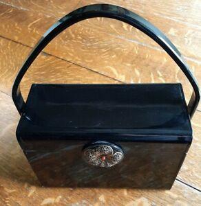 Wilardy Handbag Black Vintage