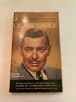 1961 Clark Gable by George Carpozi Pyramid 1st Printing Paperback