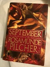 SEPTEMBER  Rosamunde Pilcher   1990 First Edition 1st Printing    Scotland