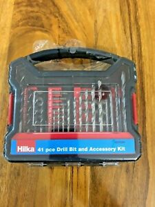 HILKA 41 pce Drill Bit And Accessory Kit New 49707041