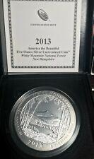 2013 P White Mountain ATB 5 oz silver coin with OGP & COA