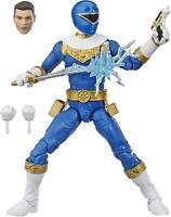 Power Ranger Zeo Blue Lightning Collection Mighty Morphin Figure Hasbro CHOP
