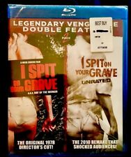 I SPIT ON YOUR GRAVE 1978 2010 Double Feature BLU-RAY UNCUT Unrated Rare OOP NEW
