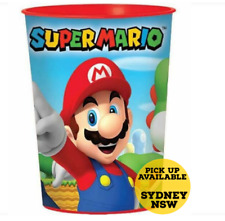 Super Mario Brothers Keepsake Souvenir Plastic Cup Tumbler Birthday Party 473ml