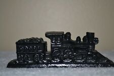 VINTAGE HAND CRAFTED COAL TRAIN LOCOMOTIVE HAND CARVED