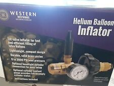 Western Enterprises Helium Regulator Balloon Inflator Nozzle Gauge
