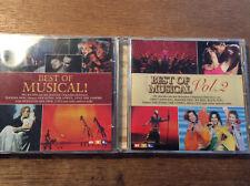 Best of Musical [2 CD Alben]  Mamma Mia König der Löwen Tanz der Vampire Cats