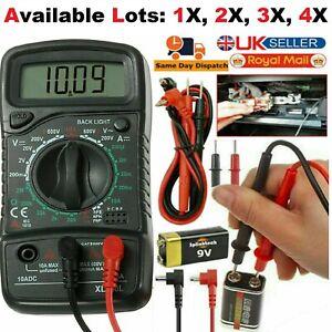 LCD Digital Multimeter Voltmeter Ammeter AC DC OHM Current Circuit Tester Lots
