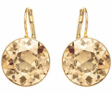 Swarovski Crystal Bella Gold Plated Pierced Earrings Pair 901640 NIB
