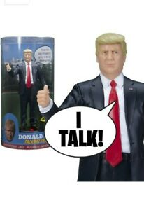 Donald Trump Talking Figure, says 17 Different Audio Lines in Trump's Own Voice!