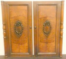 "vintage* SPARTON model 111: TWO ORNATE ""to-die-for"" FRONT DOORS  28 & 1/2"" hi"