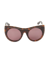 new Karl Lagerfeld women designer fashion luxury sunglasses KL993S Havana $196