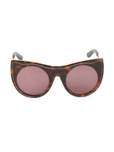 new Karl Lagerfeld women designer fashion luxury sunglasses KL993S Havana $196