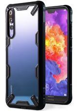 Huawei P20 Pro Case Case Military Drop Tested Bumper Anti-Scratch Cover Black