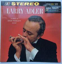 Larry Adler Harmonica Virtuoso With Piano Trumpet, Bass, Guitar STEREODISC UK LP