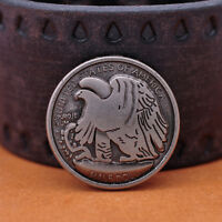 30MM 10X Western Americian Half Dallor Coin Conchos For Leathercraft Rivetback