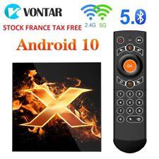 TV Box Android 10 4GB RAM 64GB 4K 1080p 2.4G & 5G Wifi BT5.0 Google Assistant