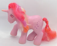 Hasbro My Little Pony G1 Galaxy Pink Unicorn Twinkle Gem Eyes Stars 1985 Vintage