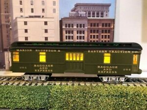 O scale 2 Rail LaBelle Freight Trolley from wood kit, new Walthers trucks. New