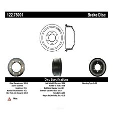 CENTRIC PARTS Front Brake Drum - CENTRIC PARTS