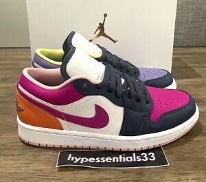 Nike Wmns Air Jordan 1 Low SE Purple Magenta White DJ4342-400 Size 8.5W NEW DS