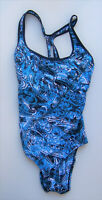 SPEEDO ENDURANCE+ One-Piece Swimsuit(Size:10,$84.00 MSRP NWT,blue,swimming)