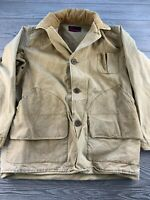*Vintage Montgomery Ward Yellow Coat Jacket Button Up 1930s 1940s? Sz Unknown