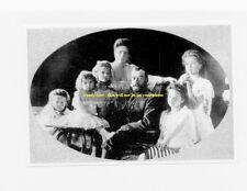 "mm368 - Czar Nicholas II Romanov & family in 1906 - Russia - Royalty photo 6x4"""